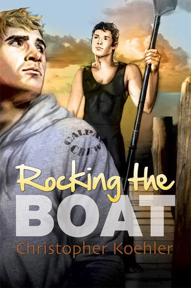 GLRF Member Christopher Koehler publishes his first male/male romance novel, based on a university rowing team.