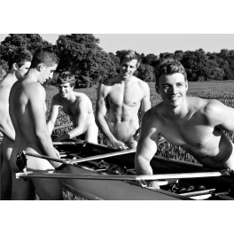 2014 Mens Naked Rowing Calendar