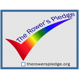The Rower's Pledge Sticker